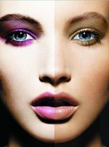 Макияж для серо-голубых глаз: красота должна создаваться правильно